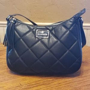 Liz Claiborne purse/handbag black 12x9